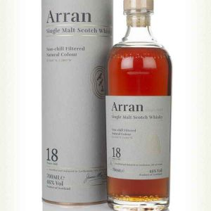 arran 18 year old whiskies